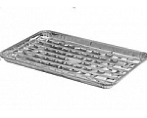 Решетка алюминиевая для барбекю 342х228